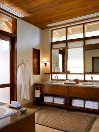 photos hgtv spa like double vanity bathroom with wood plank
