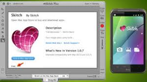 skitch android screen grabbing mac app skitch now free also available as android app