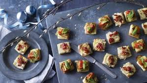 canape ideas nigella food recipes puff pastry pizza bites
