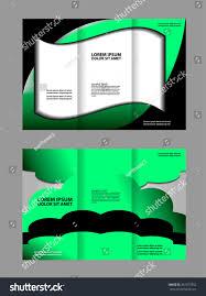 vector tri fold brochure design corporate stock vector 401077852