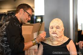 special effects make up school makeup artist joel harlow to give live demonstration at cinema