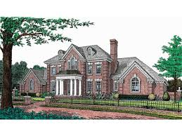 adam federal style house plans