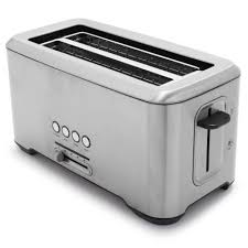 sur la table toaster breville a bit more 4 slice toaster toasters stainless steel