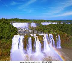 famous waterfalls in the world most famous waterfalls world iguazu magnificent stock photo