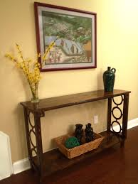 Hallway Accent Table Narrow Accent Tables Best Table Decoration