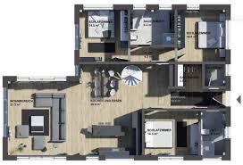 Winkelbungalow K Mäleon Haus Gmbh Hybridhaus Fertig Und Massivhaus In Einem