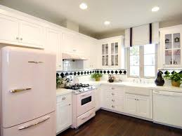 Retro Kitchen Design Ideas by L Shaped Kitchens Hgtv