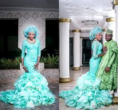 Traditional Wedding Dresses 2016 New African Traditional Wedding Dresses Lace Mermaid Bridal