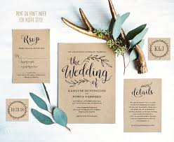 wedding invitations kraft paper kraft paper wedding invitations best 25 kraft wedding invitations
