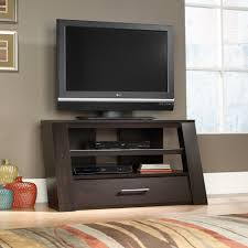 sauder select tv stand with optional mount 414143 sauder