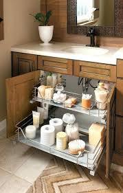 Bathroom Sink Storage Solutions The Sink Storage Bathroom Sink Organizer Creative Storage