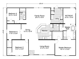 Modular Home Floor Plans Prices American Freedom Triplewide Manufactured Home Floor Plan Or