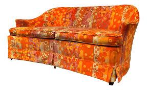 dorothy draper sofa in jack lenor larsen velvet chairish