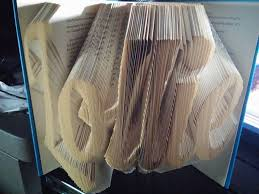 Book Paper Folding - how to make folded book easier using your computer 9 steps