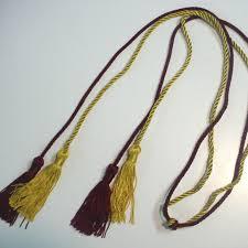 honor cords pi kappa alpha honor cords brown s graduation supplies awards