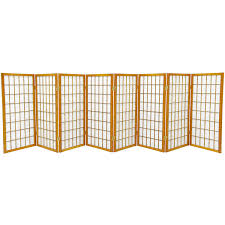 amazon com oriental furniture 3 ft tall window pane shoji screen