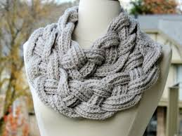 braided scarf layered braided cowl crochet tutorial