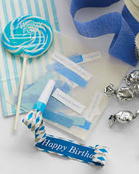silver party favors grown up birthday party ideas martha stewart