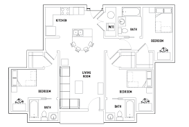 3 floor plans floor plans plaza on housing orlando fl