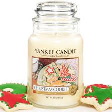 yankee candle housewarmer jar cookie