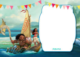 cool free moana baby shower invitation template free baby shower
