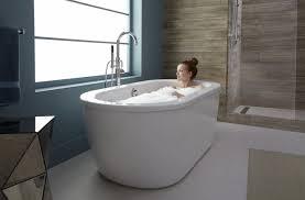 Soaker Bathtubs Tubs Wonderful Kohler Pennington Biscuit Drop In Oval Bathroom