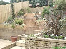 landscaping ideas for hill in backyard hill landscaping ideas