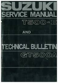 t500 mkii and gt500a service manual
