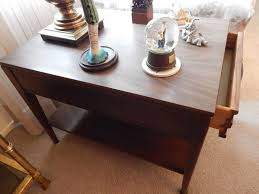 Mersman End Table Absolute Auctions U0026 Realty