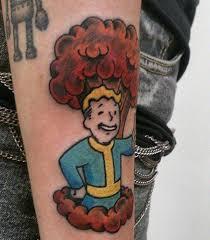 20 super cool fallout tattoo designs