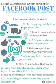 10 ways to make a facebook post work for business studio culture