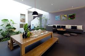 Put Indoor Plants As Decoration On The Scene  House With - Conservatory interior design ideas