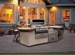 Outdoor Island Kitchen Outdoor Kitchen Island Add Value To Your Home