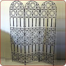 Moroccan Room Divider Moroccan Furniture Moroccan Wrought Iron Screen And Divider