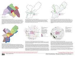 Septa Regional Rail Map Asla 2011 Student Awards Envisioning Franchisville U0027s Future