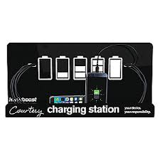 charging station phone kwikboost cell phone chgng station 9in h x 18in w 45uc03 kb m8ts