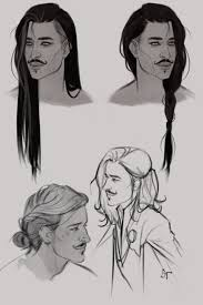 sketches for very long hair sketches www sketchesxo com