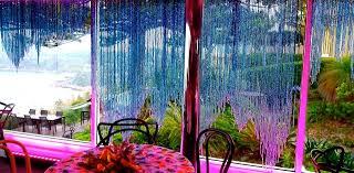 Crystal Beaded Curtains Australia by Blue Ombre Acrylic Crystal Handkerchief Base Bead Curtain
