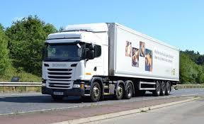 scania trucks 30 new scania g410 trucks for dhl fleet uk haulier