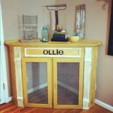 How To Build End Table Dog Crate by Dog Kennel Furniture Foter