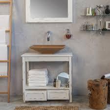 mobile console for bathroom design wooden urban cottage