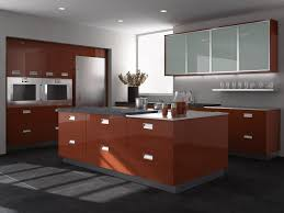 european style modern high gloss kitchen cabinets ideas for