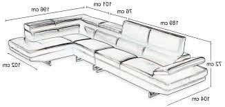 dimension canape d angle taille canapé 3 places concernant dimension canape d angle