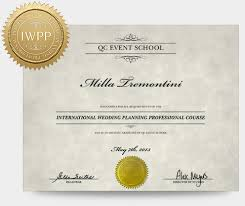 wedding planner degree wedding planning course qc event school