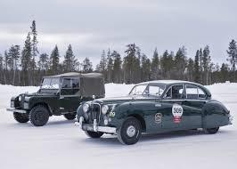 jaguar classic jaguar classic partners pirelli and offers unique arctic adventure