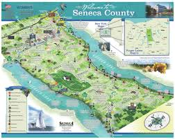 New York State Counties Map by Maps And Tools Welcome To The Finger Lakes Region And Seneca