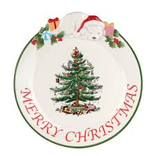 spode tree puppy collection platter spode usa
