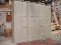 Solid Pine Wardrobes Painted Tall 2 7mh Large 7 Door Solid Pine Victorian Style Shabby