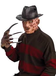 Halloween Freddy Krueger Costume Amazon Nightmare Elm Street Molded Freddy Krueger Fedora