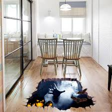 horror home decor online shop halloween decoration waterproof wall sticker horror